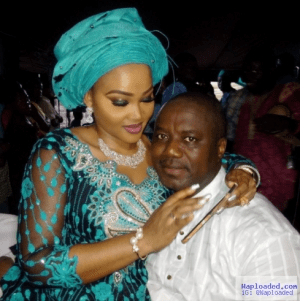 Mercy Aigbe Gentry and hubby loved up in new photo